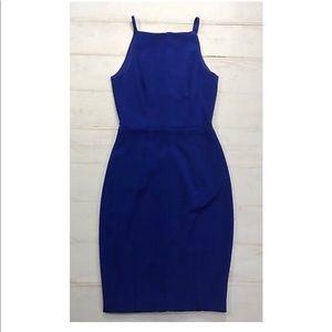 Sexy H&M Royal Blue Bodycon Pencil Strap Dress